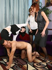 Office boy was punished and stroked
