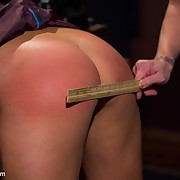 The squirted slattern getting dominated and spanked