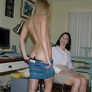 Unerring blonde gets otk spanked