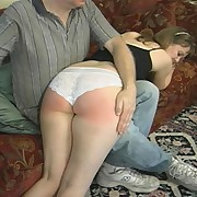 Mature gets otk spanked