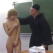 Nun spanking girls