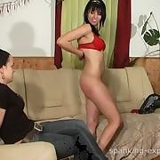 Family discipline spanking