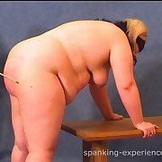The master caned a fat girl