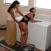 Female hard spanking
