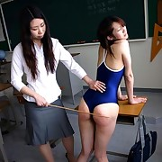 Lecherous skirt has brutish spanks on her tail