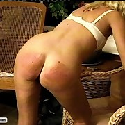 MILF Teacher sadistically canes and paddles her students
