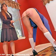 Redhead slut was spanked