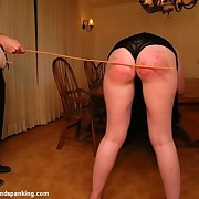 Milf getting caned