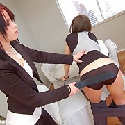 Teen girls got asses flogged for disobedience by mistresses