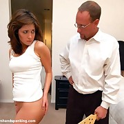 Husband paddled hard wife