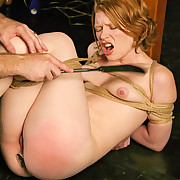 Slapped, nipple tormented and gagged