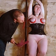 Extreme Breast Whipping