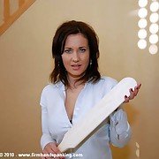32 with a tawse, 22 bare, for intern Justine after making out with a taint