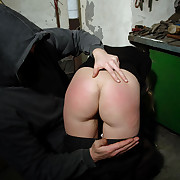 Spanking near an increment of whipping lessons near Lola.