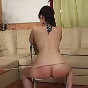Tortured spanking treatment of a lustful X bitch
