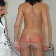 Bad girl receives otk spanked