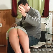 Teen was spanked otk