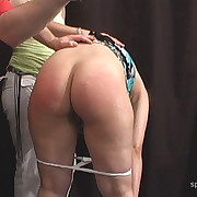 Cute skirt gets her prat punished