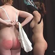 Cute skirt gets her prat punished
