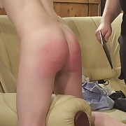 Dissolute soubrette has sadistic spanks on her prat