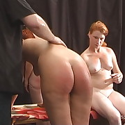 Smutty skirt has her tail flagellated