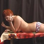 Amazing missy has her backside lashed