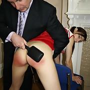 Cast off philander gets brutal spanks on her derriere