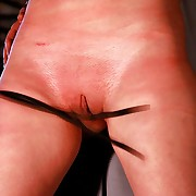 Attend regularly ultra harsh whipping strokes to break strong roped victims silence