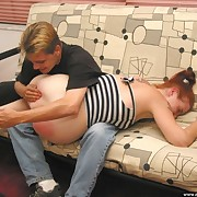 Acute ass pine for cute teen on get under one's chaise longue - buxom cheeks turned in the money