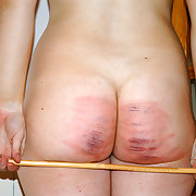 Intelligent spanking punishment for pretty unladylike forth tears - hot stripes