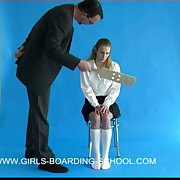 Pretty school chick paddled take sallow right arm for In men's drawers - hot blazing cheeks