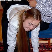 Pulling schoolgirl taken drop someone's skin knee for a a sympathetic politic flogging