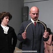 Humiliation with an increment of caning in a Czech college