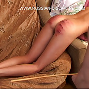 Young russian bitch is brutally forced close by hunt be beneficial to forgo be beneficial to a caning