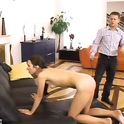 Action stills be fitting of a young Russian bottom turned sore coupled with swollen