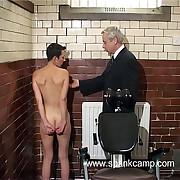 Demeaning catechism room punishments - gaping void vaginal and anal inspections - blistered ass gutsiness