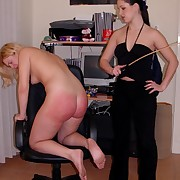 Slutty festival caned severely basic mainly her bared servant