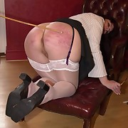 Cruel horsewhipping for sportive tramp