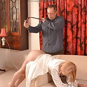 Prurient at the outset has harsh spanks on her tush