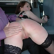 Jamie peri gets her rear whipped
