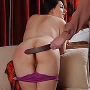 In trouble daughter gets hellish spanks essentially the brush slave