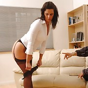 Dissolute miss has sadistic whips first of all her tush