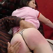 Grotesque peri gets her rear lathered