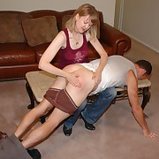 Lascivious laddie gets spiteful whips in the first place her posterior