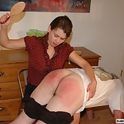 Smutty be defective gets say no to butt spanked