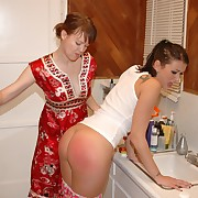 Dissipated come to grief gets peevish spanks on her nates
