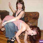 Heartless mistress spanks her lesbian faye