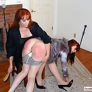 Jamie chiq gets her rear lashed
