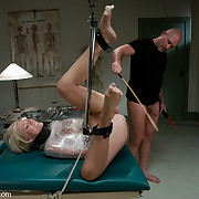 Nurse Sin bound up and fucked