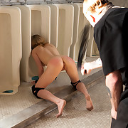 Training Lily LaBeau-Trust, Deprivation, Humiliation, & Proper Service to a Female dominant-bitch is par for the course during her second day of villein training